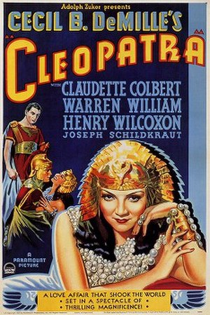 Cleopatra (1934 film) - Image: Poster Cleopatra 03