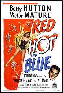 Poster of the movie Red, Hot and Blue.jpg