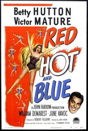 Red, Hot and Blue (film) - Image: Poster of the movie Red, Hot and Blue