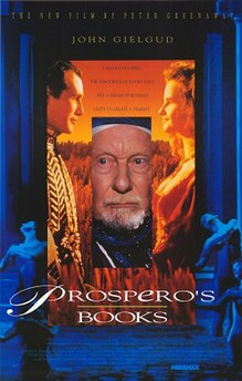 <i>Prosperos Books</i> 1991 British film by Peter Greenaway