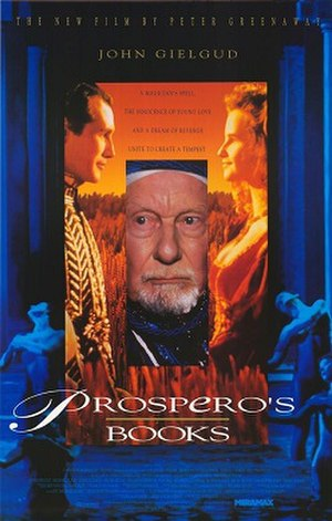 Prospero's Books - Theatrical poster.