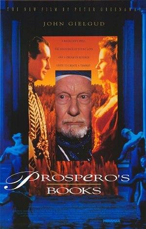 Prospero's Books - Theatrical poster.