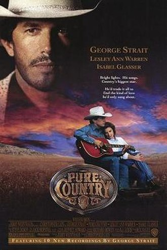 Pure Country - Theatrical release poster
