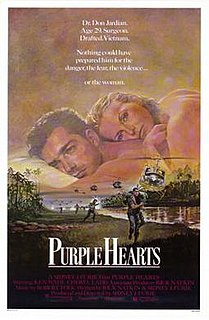 <i>Purple Hearts</i> (film) 1984 film by Sidney J. Furie