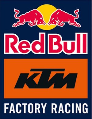 Red Bull KTM Factory Racing - Image: Red Bull KTM Factory Racing logo