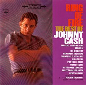 Ring of Fire: The Best of Johnny Cash - Image: Ring of Fire The Best of Johnny Cash