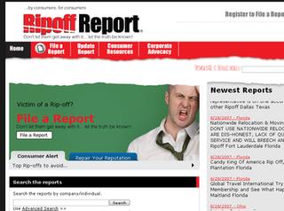 Ripoff Report consumer advocacy website
