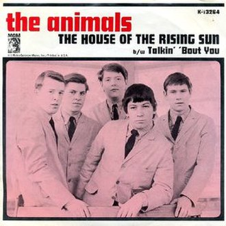 The House of the Rising Sun - Image: Rising sun animals US
