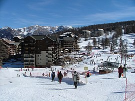 Main ski resort