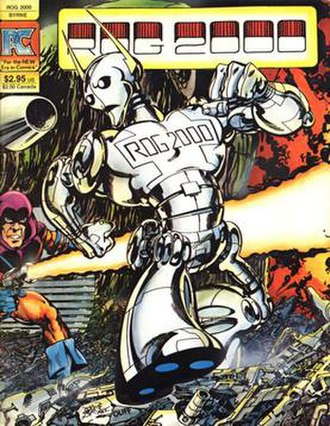Rog-2000 - Pacific Comics' one-shot (July 1982). Cover by John Byrne.