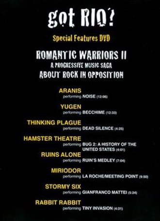 Romantic Warriors II: Special Features DVD - DVD cover