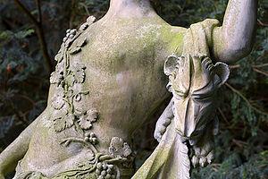 Rousham House - Statue detail