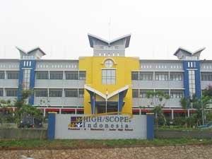 Sekolah High/Scope Indonesia - The main campus of Sekolah High Scope Indonesia in Jakarta, Indonesia