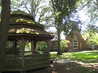 Salisbury University - Guerrieri University Center and Gazebo Hill at Salisbury University