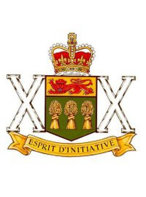 The Saskatchewan Dragoons - The Saskatchewan Dragoons badge
