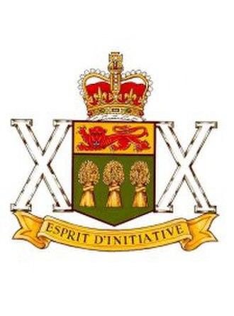 The Saskatchewan Dragoons - The Saskatchewan Dragoons badge