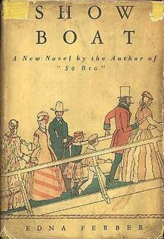 Show Boat (novel) - First edition (US)