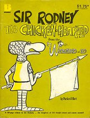 The Wizard of Id - Sir Rodney: Cover of a 1980 Australian collection of strips