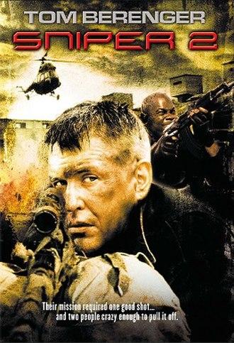 Sniper 2 - DVD cover
