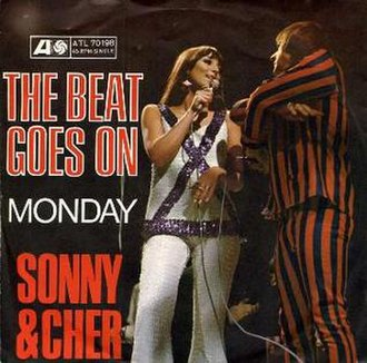 The Beat Goes On (Sonny & Cher song) - Image: Sonny & cher 45