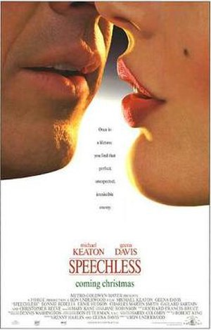 Speechless (1994 film) - Promotional film poster