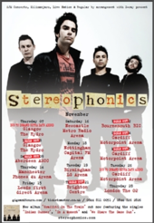 Stereophonics Tour Dates  Uk