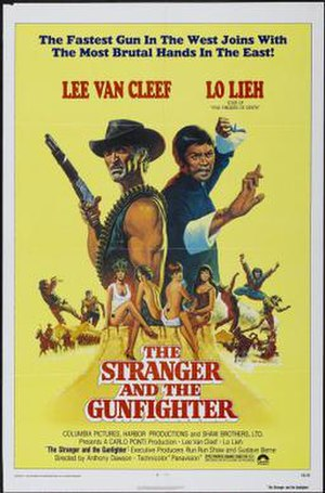 The Stranger and the Gunfighter - American film poster