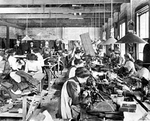 Sweatshop - A sweatshop c.1890