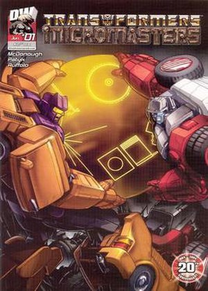 Transformers: Micromasters - Image: TF Micromasters comic