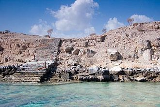 Telegraph Island - The steps to Telegraph Island