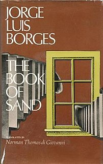 <i>The Book of Sand</i> (short story collection) short story collection by Jorge Luis Borges