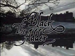 <i>The Black Adder</i> first series of the BBC sitcom Blackadder