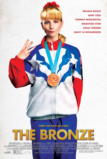 <i>The Bronze</i> (film) 2015 American comedy film directed by Bryan Buckley