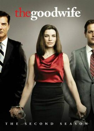 The Good Wife (season 2) - Season 2 U.S. DVD Cover