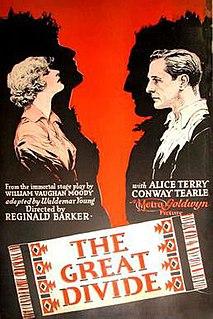 <i>The Great Divide</i> (1925 film) 1925 silent drama film directed by Reginald Barker