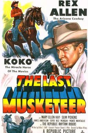 The Last Musketeer - Theatrical release poster