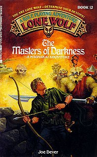 <i>The Masters of Darkness</i> book by Joe Dever