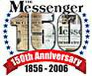 The Messenger (newspaper) - The Messenger 150th Anniversary Logo