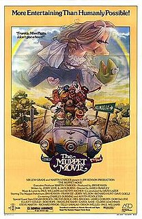 <i>The Muppet Movie</i> 1979 film directed by James Frawley