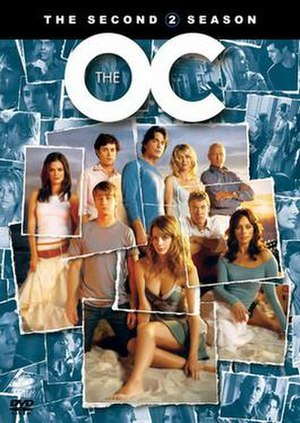 The O.C. (season 2) - DVD cover