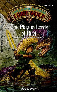 <i>The Plague Lords of Ruel</i> book by Joe Dever
