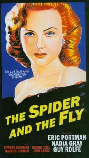 The Spider and the Fly (1949 film) - Image: The Spider and the Fly Video Cover