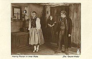 <i>The Vulture Wally</i> 1921 film