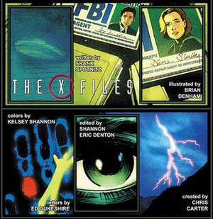 The X-Files (comics) - Images from the comic The X-Files Special by Frank Spotnitz