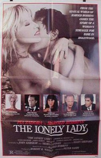 The Lonely Lady - Theatrical release poster
