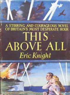 <i>This Above All</i> book by Eric Knight
