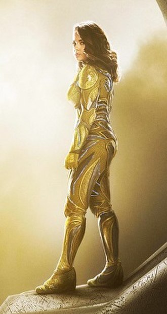 Trini Kwan - Becky G as Trini in the 2017 film Power Rangers.