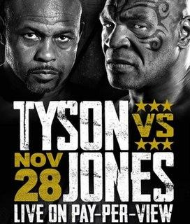 Mike Tyson vs. Roy Jones Jr. Exhibition boxing match