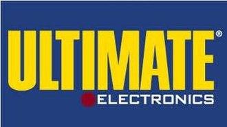 Ultimate Electronics - Image: Ultimate electronics logo