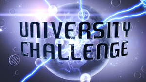 University Challenge - Image: University Challenge TV card